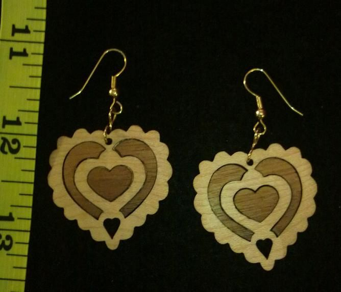 We craft hand turned pens and pencils, and bowls! Hand made wooden ear rings! Plaques, Signs, card boxes, prayer boxes! Laser Engraved Gifts!!! Hand made wooden coasters!! TONS more items!! These make excellent gifts for gun lovers, business professionals, bosses, your wife, your husband, family, friends, children or anyone!! We also make completely custom gifts and offer engraving!!