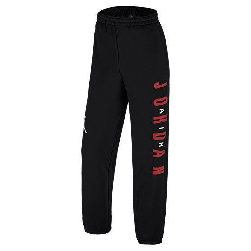 36e9ce85efc NIKE AIR JORDAN MEN'S GRAPHIC SWEATPANTS BLACK RED BRED NWT 619707-010 (SIZE  XL) #Jordan #Pants