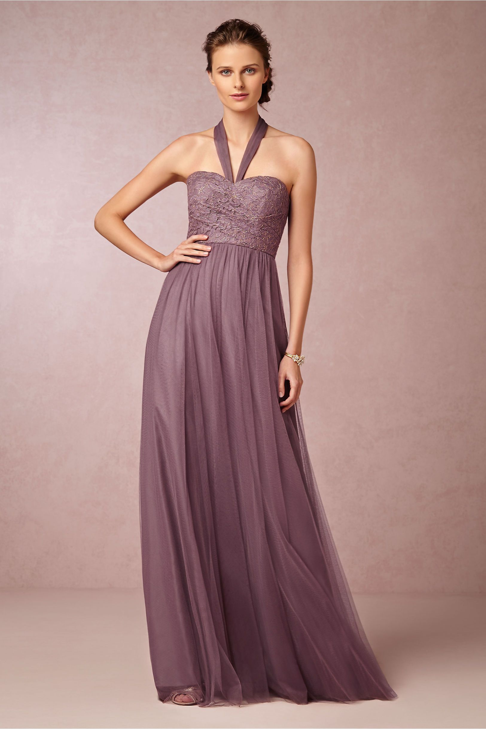 Juliette Dress in soft plum from BHLDN | Purple Wedding Ideas ...