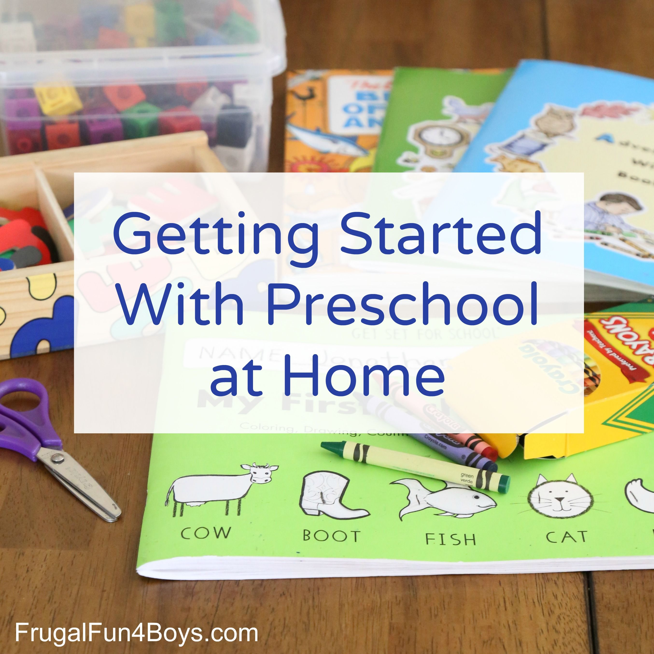 How to Play School at Home photo