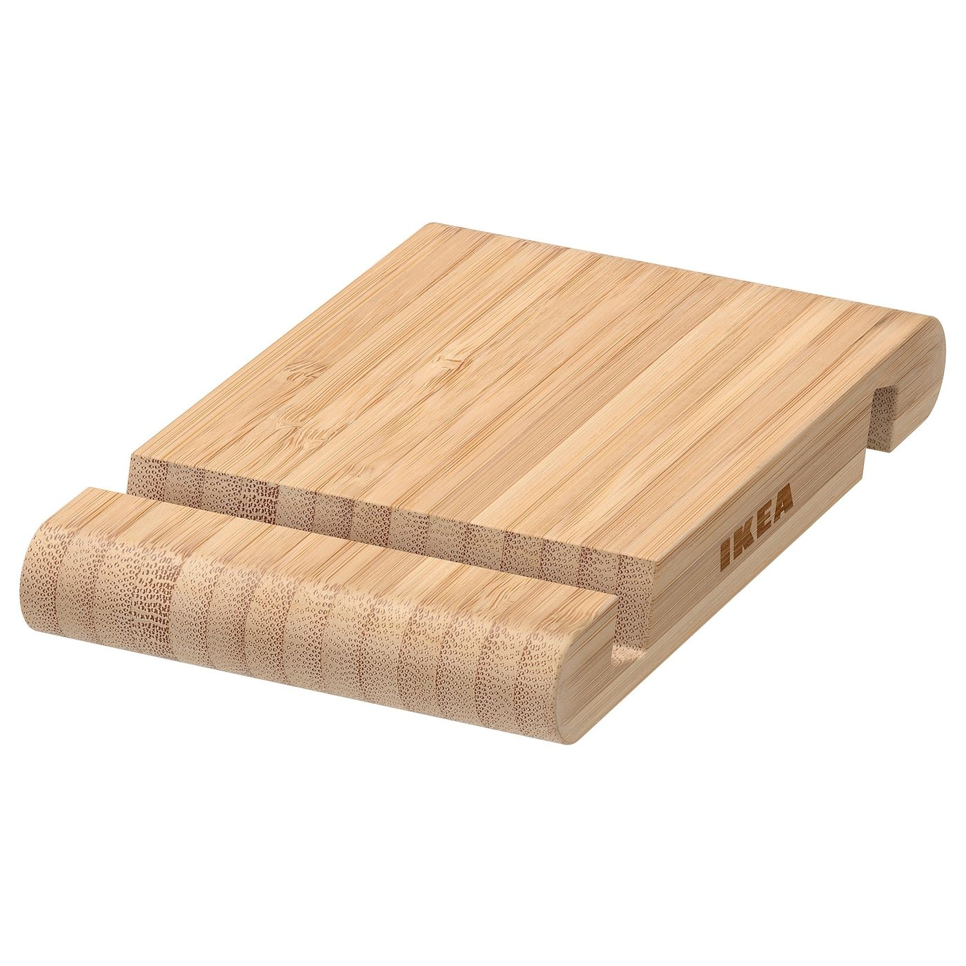 Bergenes Holder For Mobile Phone Tablet Bamboo Ikea In 2020 Desk Paper Organizer Ikea Small Storage