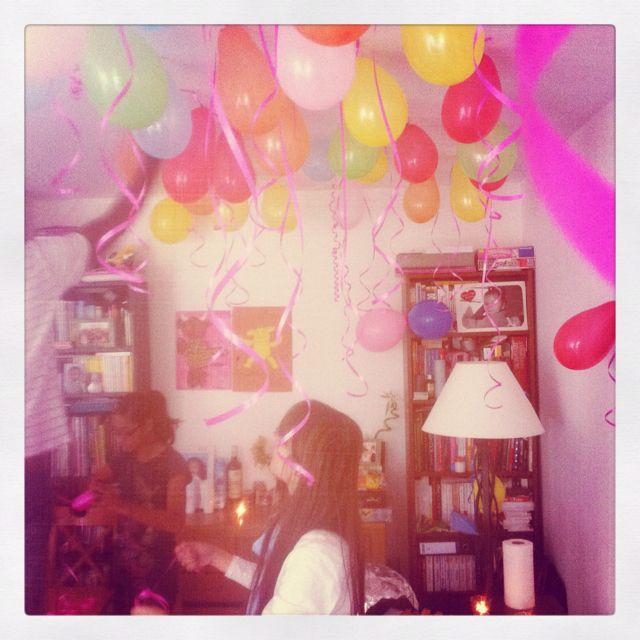 Birthday Party...cute idea