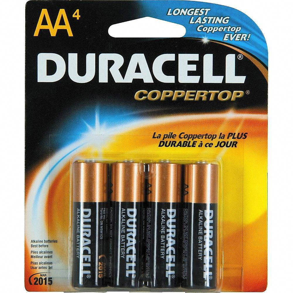 Duracell Aa Batteries 4 Pack Batterycharger Duracell Duracell Batteries Alkaline Battery