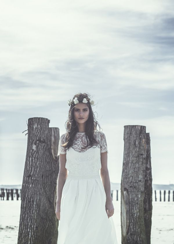 Bohemian Love - Brautmode aus Frankreich: Laure de Sagazan ...