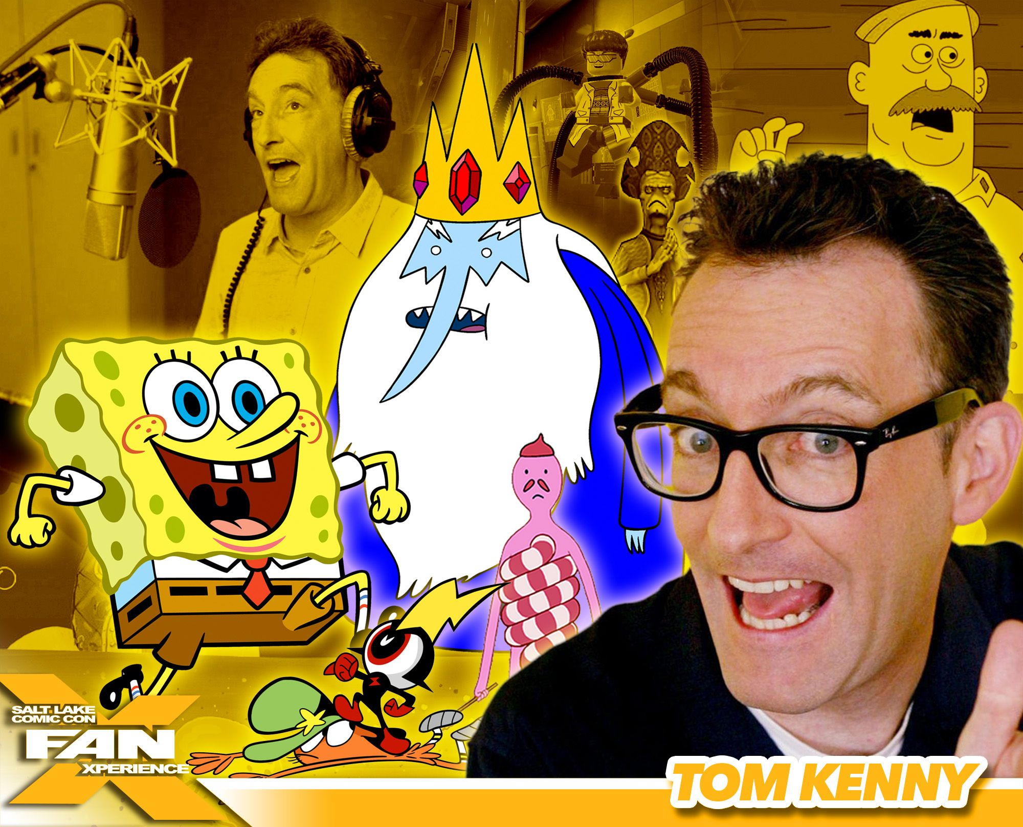 Pin To Win Meet Voice Actor Tom Kenny At Fanx16