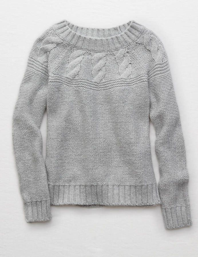 Aerie Cable Pullover Sweater Teen Girls Sweaters Pinterest