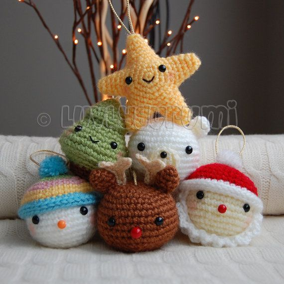 Christmas Friends Pattern #ispirazioni #idee #crochet   amigurumi ...