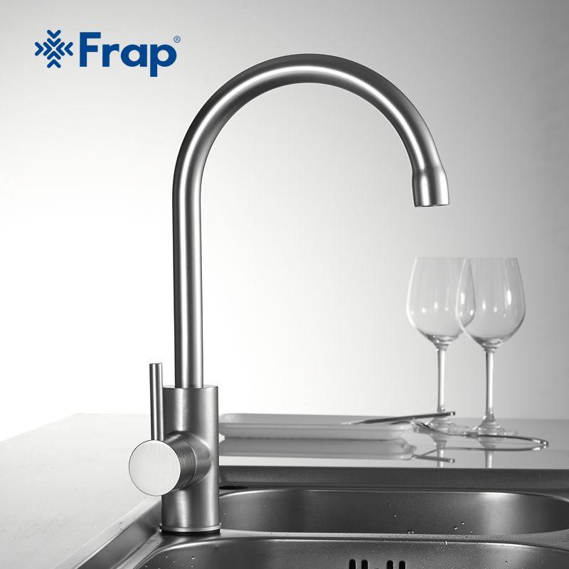Frap 1set High Quality Water Mixer Tap Kitchen Sink Faucet Torneira 360 Kitchen Sink Mixer Water Saver Tap Kitchen M Kitchen Faucet Kitchen Sink Faucets Faucet