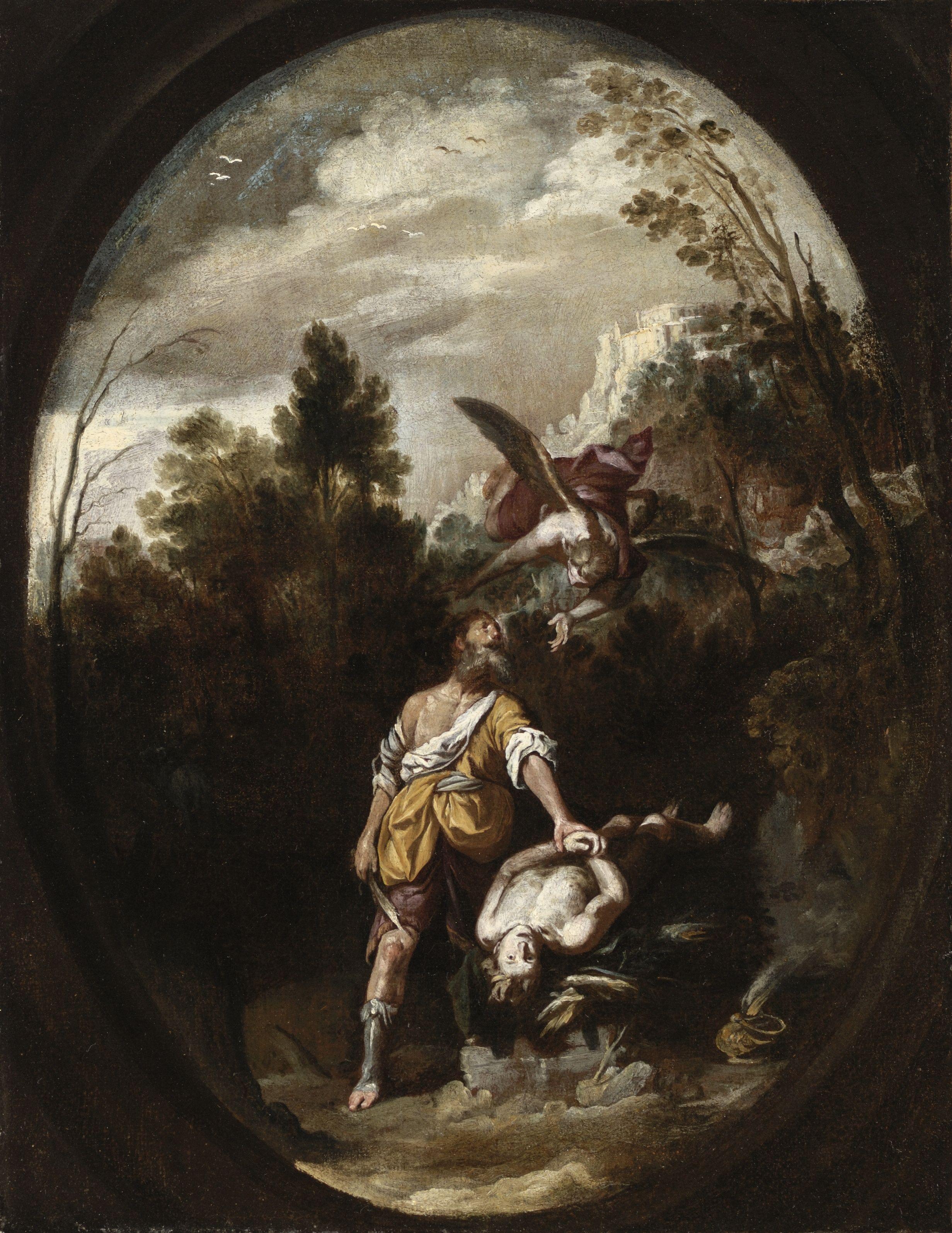 The Sacrifice Of Isaac Sacrificio De Isaac Ca 1650