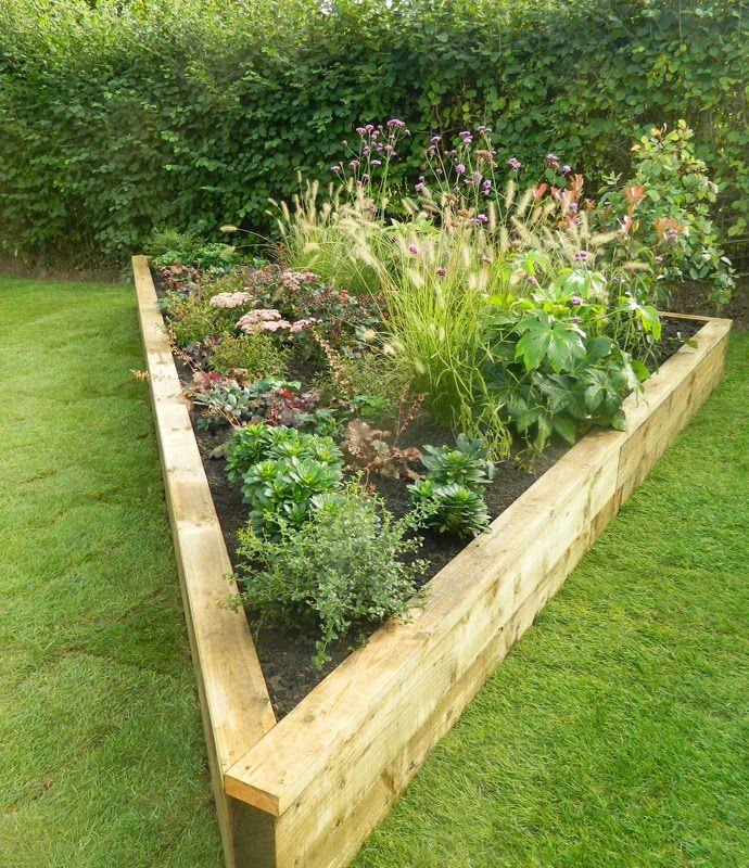 20 Raised Bed Garden Designs And Beautiful Backyard: Garden Beds, Raised Garden