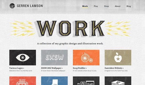 Excellent Graphic Designer Website Designs 30 Examples Web Design Website Design Graphic Design Website