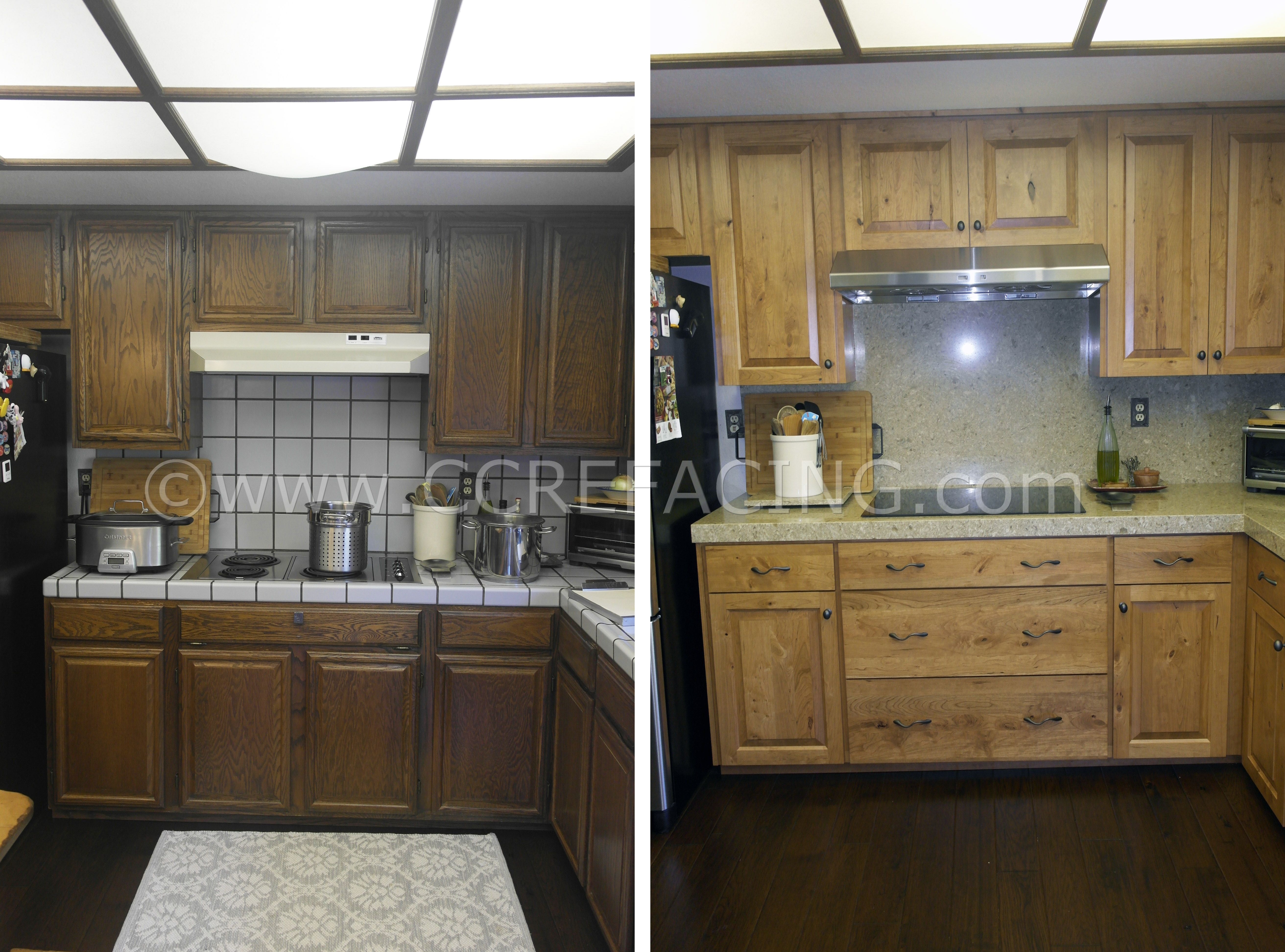 Cabinet Refacing San Mateo With Rustic Cherry Doors Cabinet Refacing Custom Cabinets Cabinet