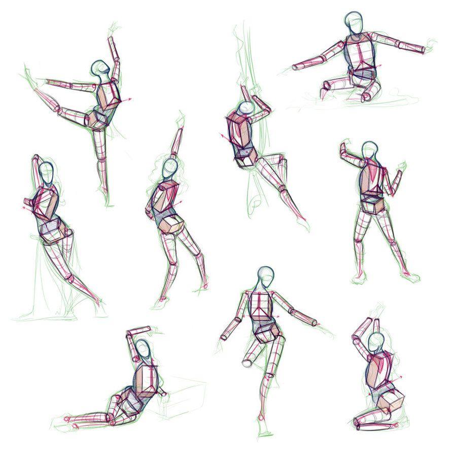 Anatomy Practice By Giselleukardi Anatomy Practice Draw Struggles