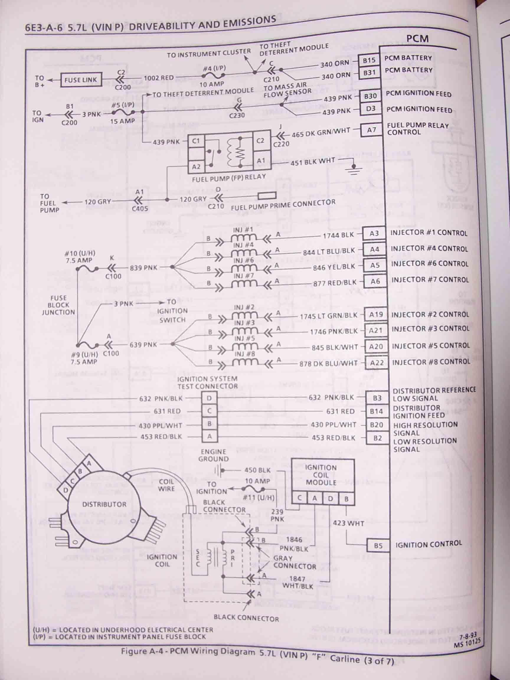 Wire Diagram 2000 Saturn Ls2