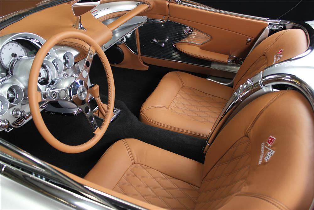 61 Pro Touring Corvette Convertible Features A Carbon Fiber 2014 Corvette Louvered Hood Gm
