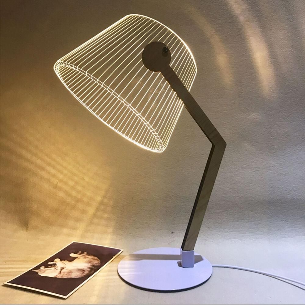 3d Effect Led Lamp Led Desk Lamp Desk Lamp Lamp