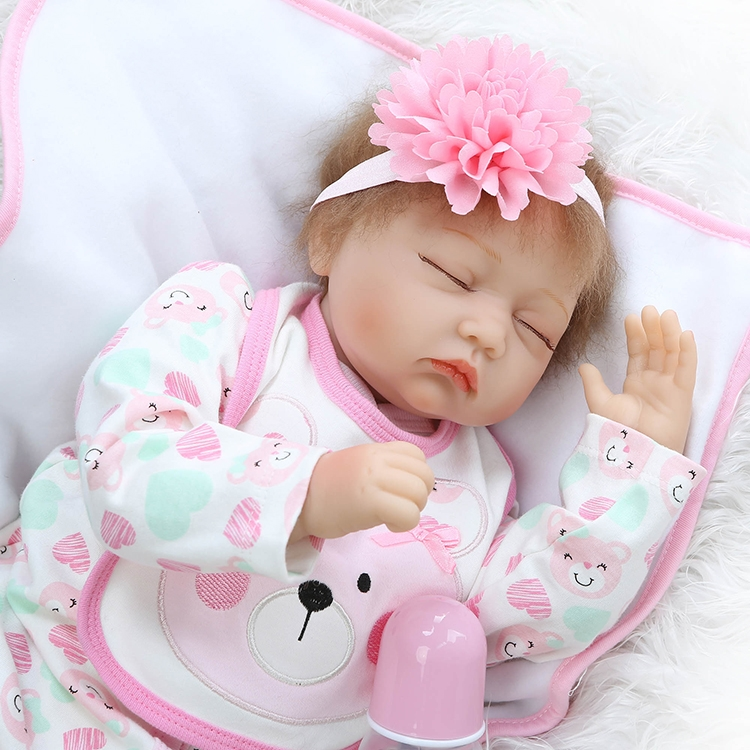 Newborn Baby Girl Toys : Watch more here lovely baby reborn doll toy the