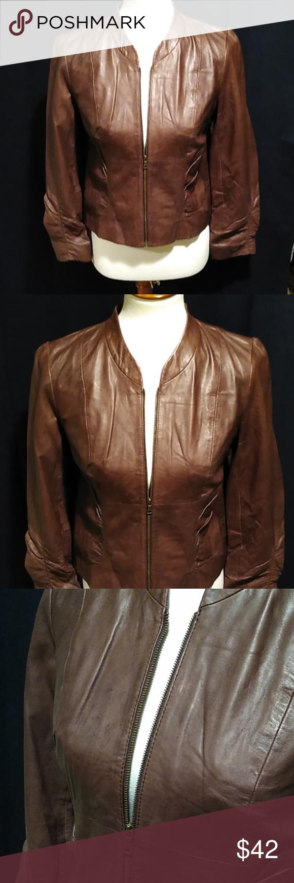 Gorgeous Classiques Entier Leather Jacket Leather Jacket Brown Leather Jacket Clothes Design