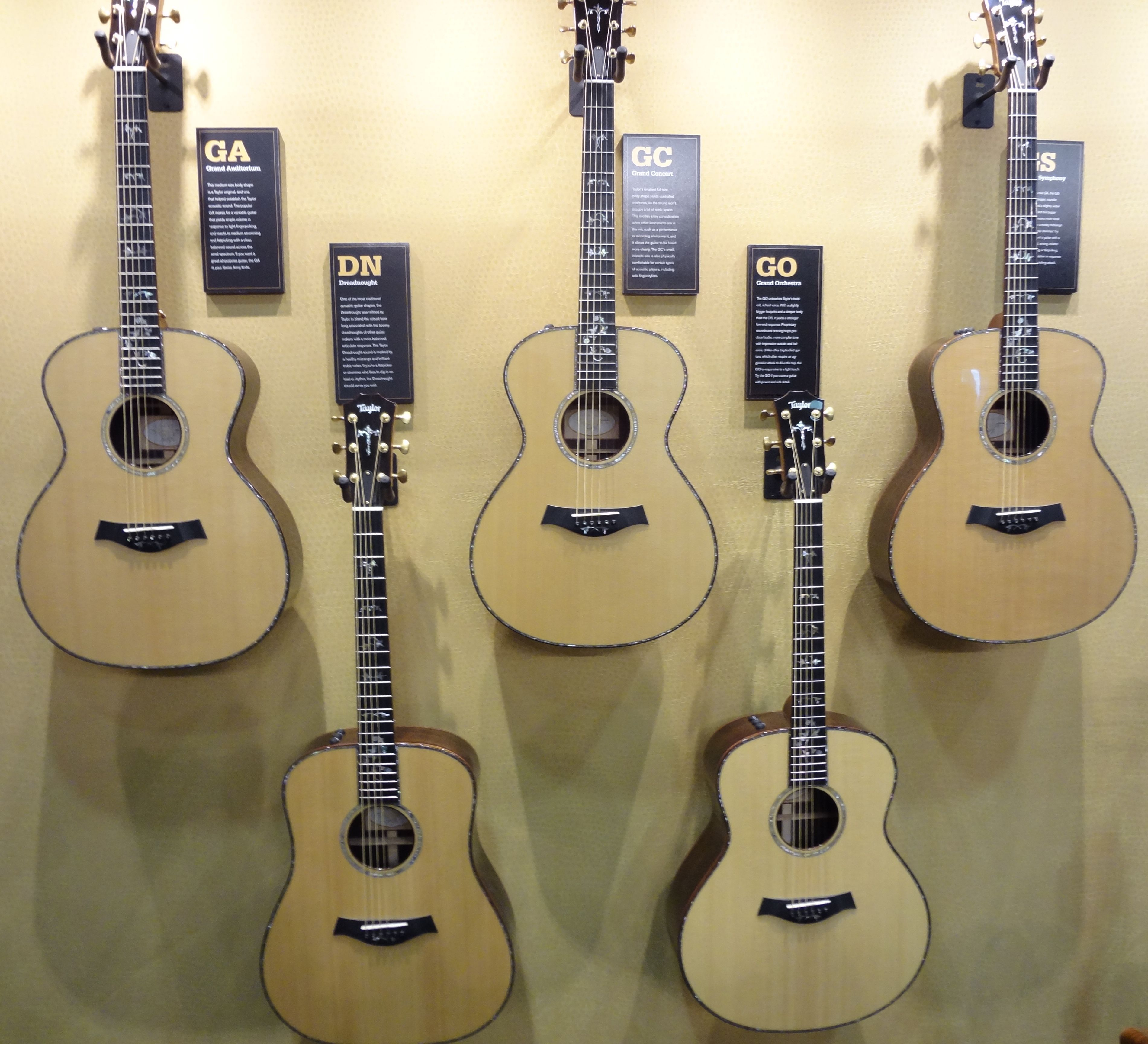 Taylor Guitars At Ams Taylor Guitars Taylor Guitars Acoustic Taylor Guitar