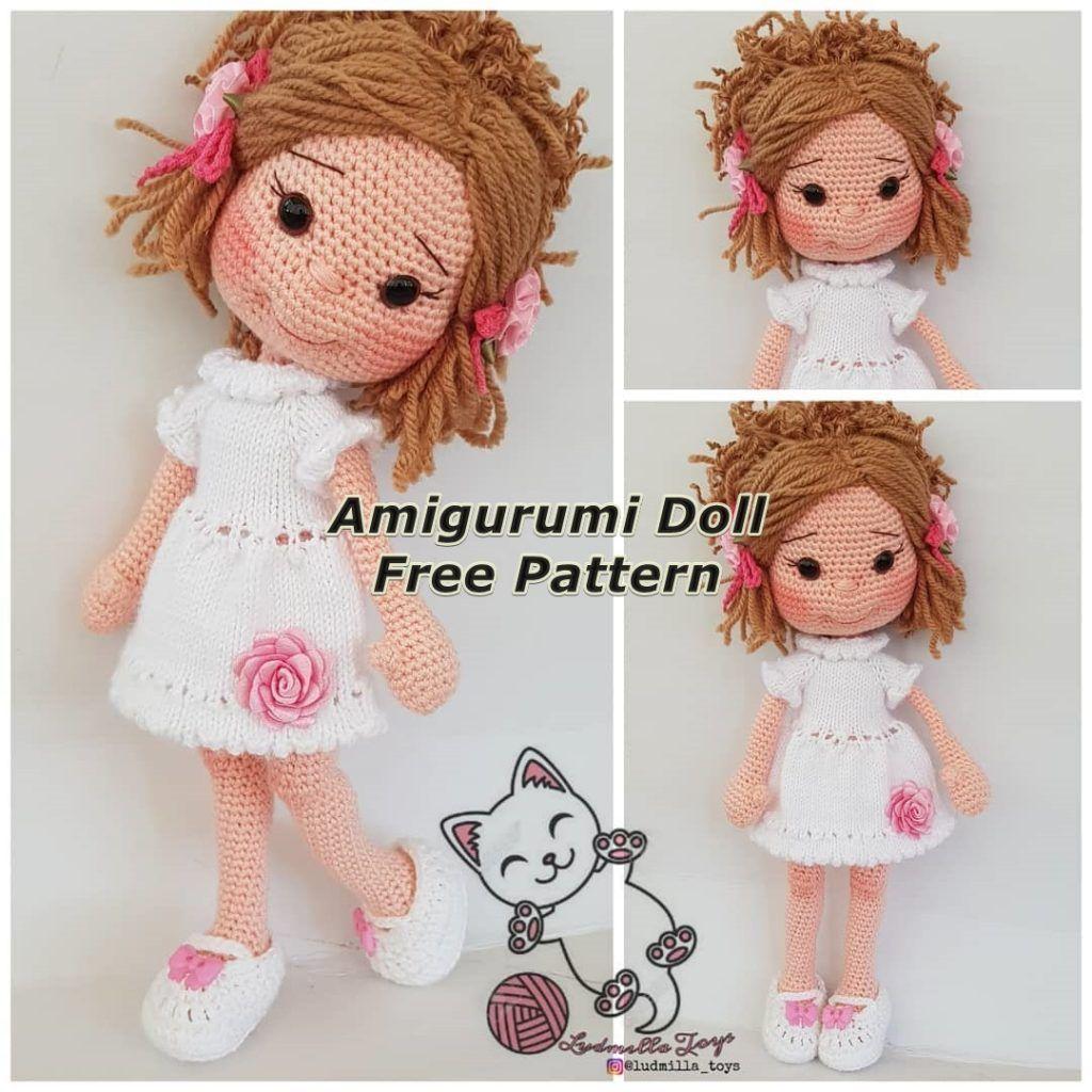 Amigurumi Bunny Free Crochet Patterns | Wzory amigurumi, Wzory i ... | 1024x1024