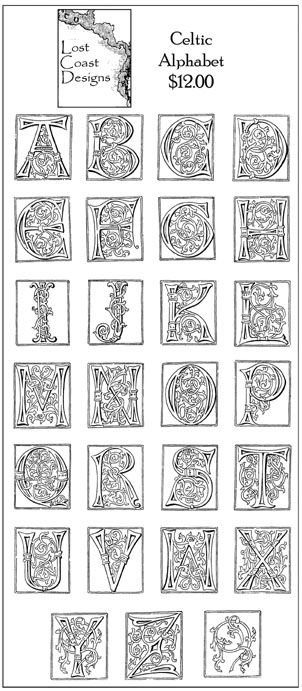 Celtic Alphabet Celtic symbols