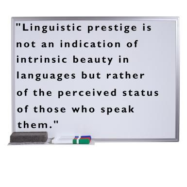 definition of language and identity