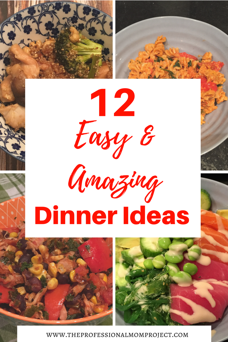 Favourite Quick And Easy Dinner Recipes Fast Weeknight Meals