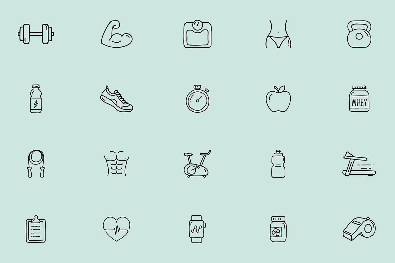 Gym Instagram Icons Health Fitness Gym Instagram Instagram Icons Health Icon