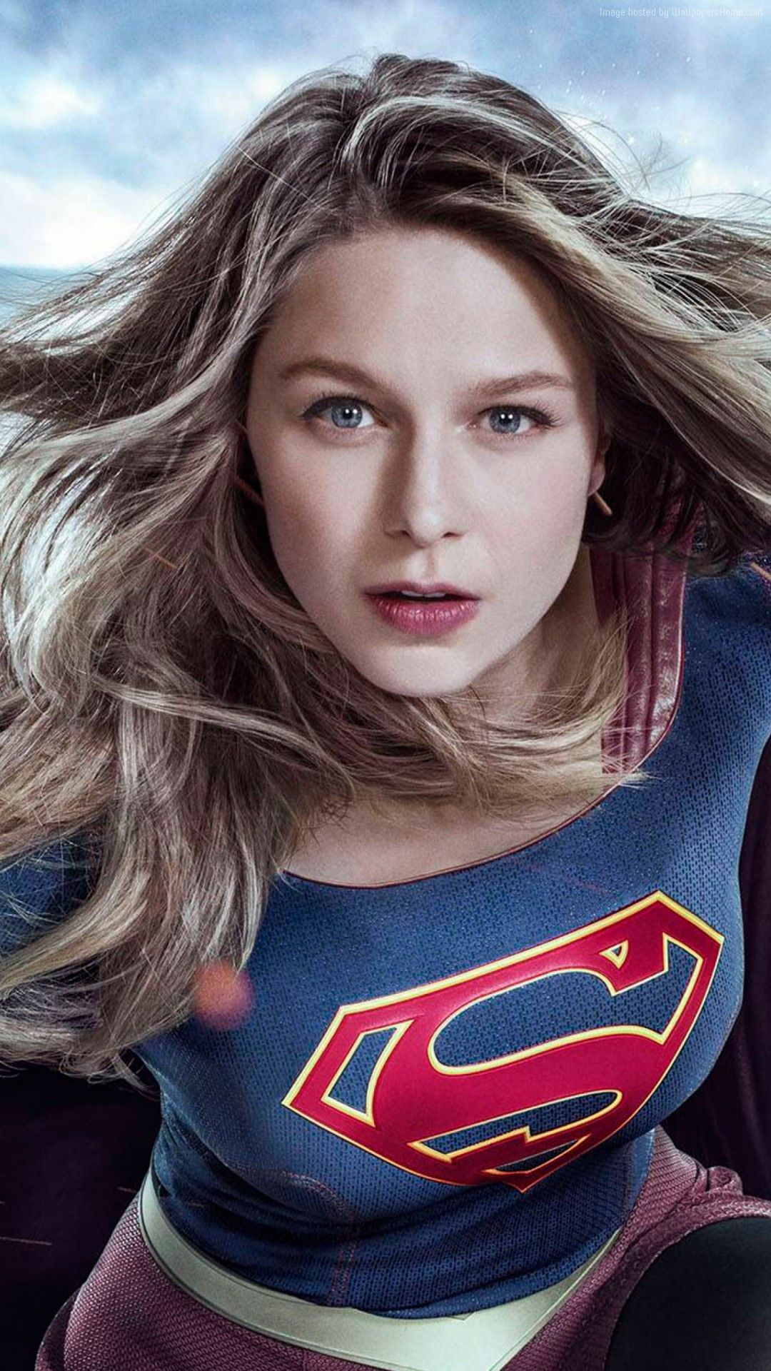 Supergirl Melissa Benoist 2017 Free Hd Iphone Wallpapers