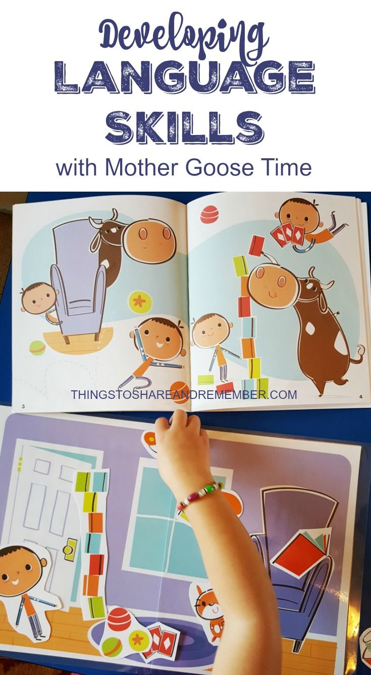 Developing Language Skills With Mother Goose Time
