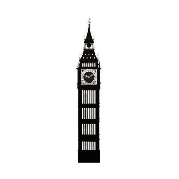 Big Ben Silhouette Png The Big Ben Wall Clock Vision Board Pinterest Big Ben Big Ben Clock Wall Sticker