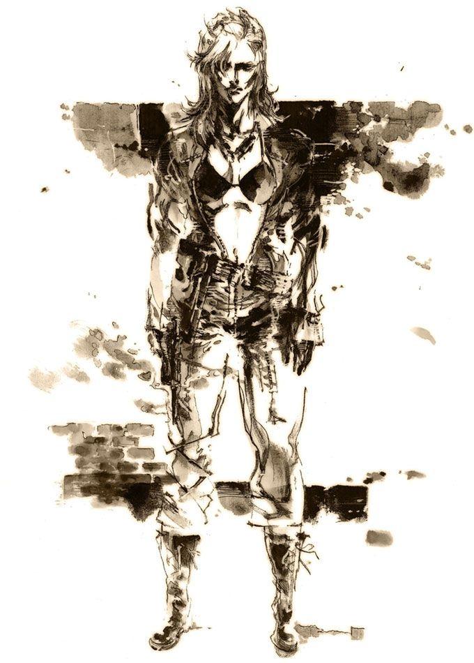 Eva Metal Gear Solid 3 Snake Eater Metal Gear Metal