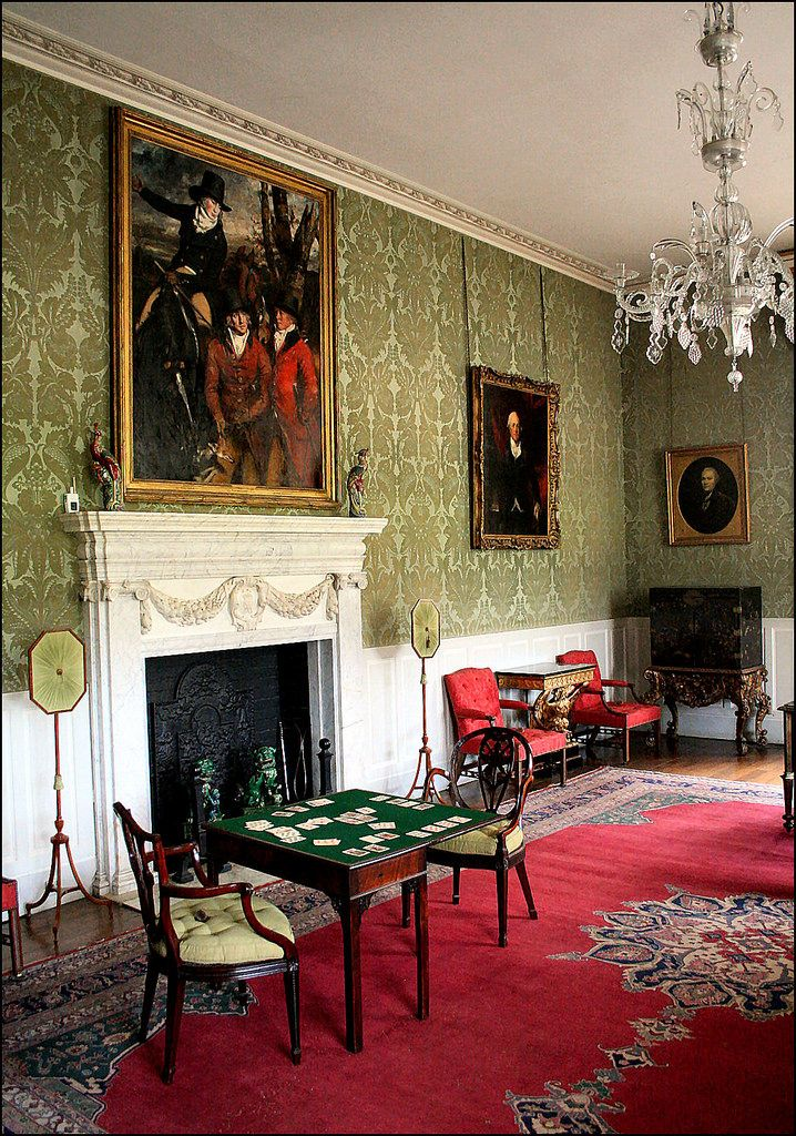 English Country House Drawing Rooms: Wanderthewood: Inside Montacute House, Somerset, England