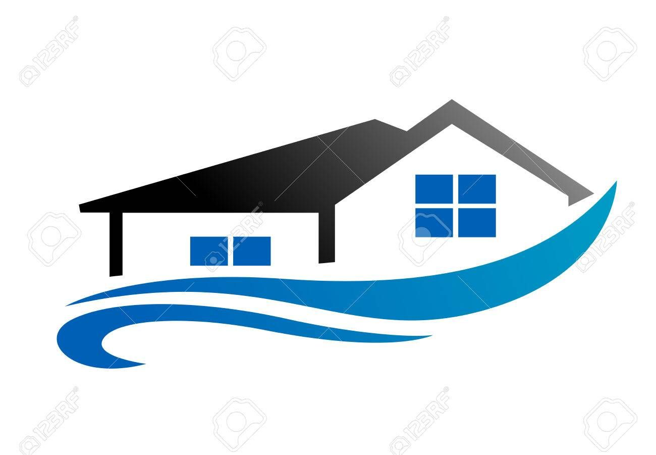 House With Roof As A Real Estate Industry Symbol Affiliate Real Roof House Symbol Industry Roof Industrial Real Estate
