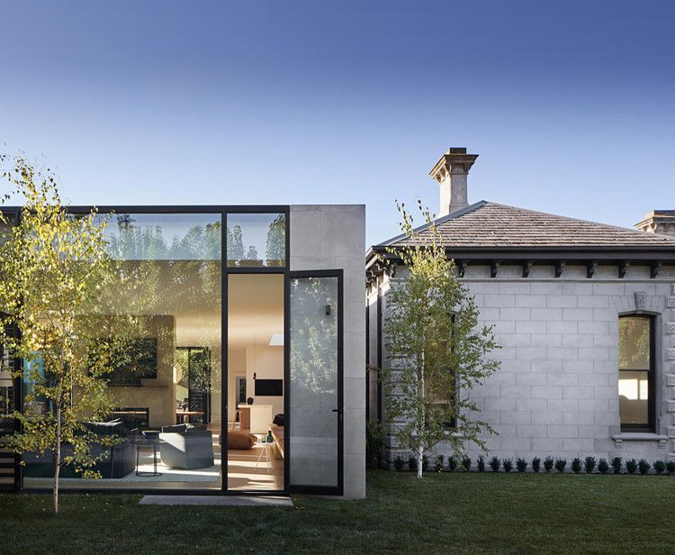 A Victorian Home With A Modern Pavilion Extension Homes To Love Glass Pavilion Architecture Heritage House