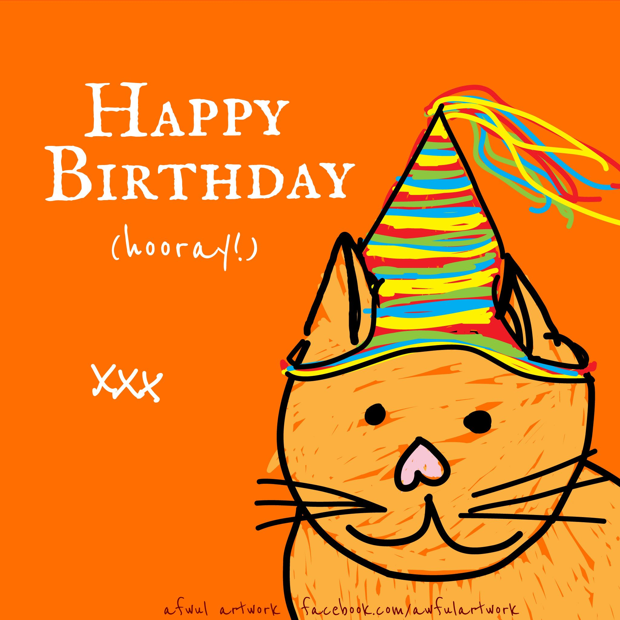 Facebook Birthday Cards Free Cat