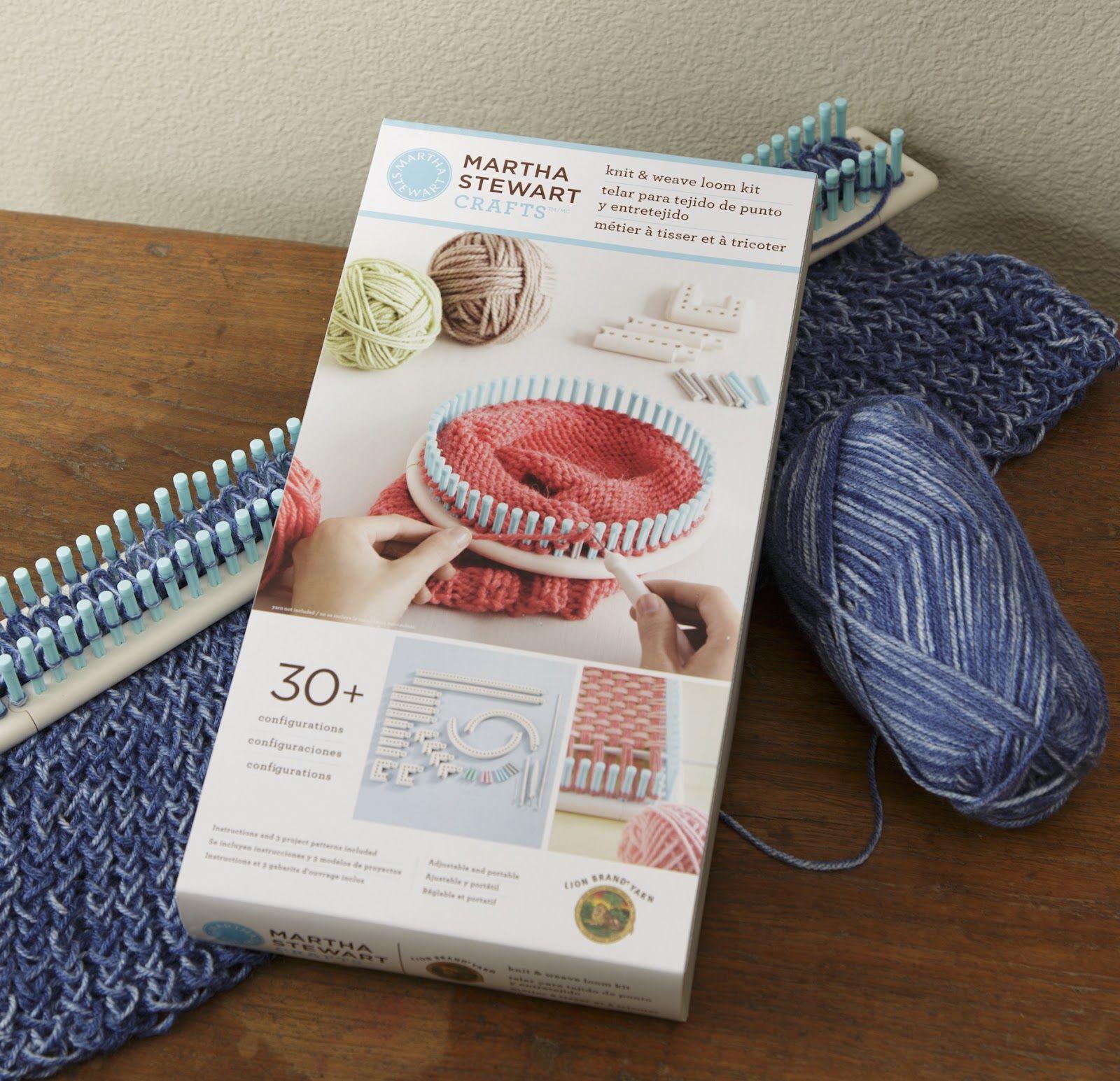 Martha Stewart Knitting Loom Patterns The First Step To Knitting