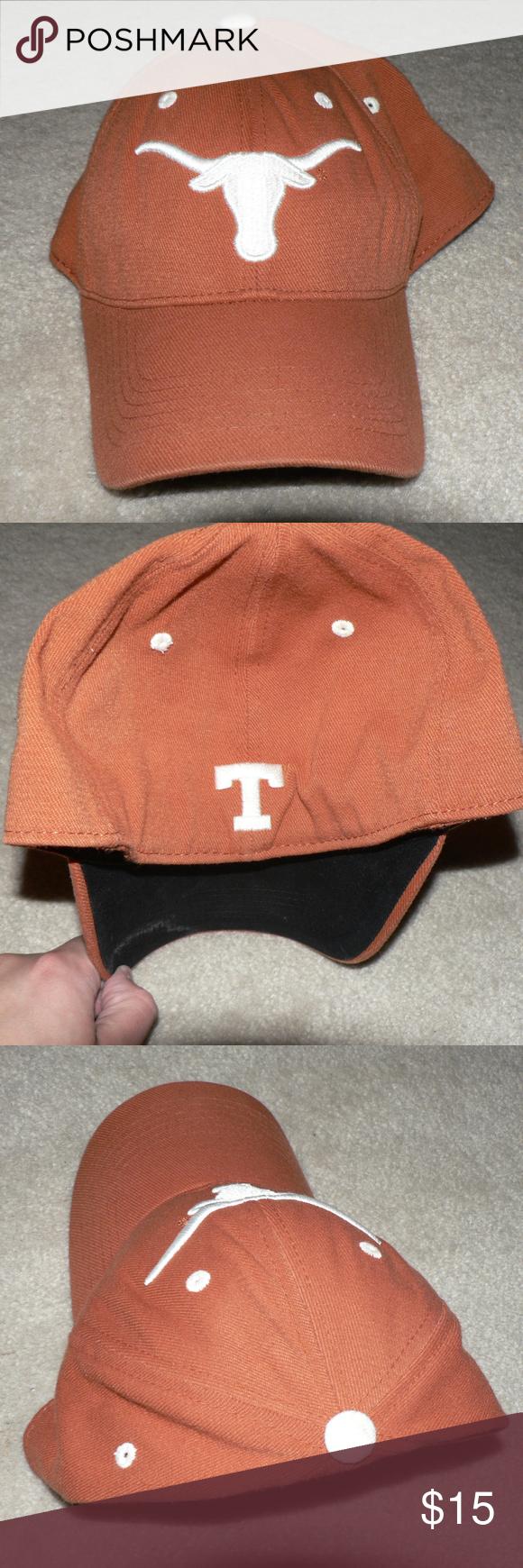 3f23b199ce045 Vintage Texas Longhorns Burnt Orange Baseball Hat Support your Longhorns  with this vintage ballcap! Has