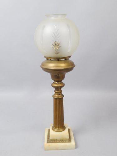 elegant antique mid 19c cornelius philadelphia astral lamp w shade