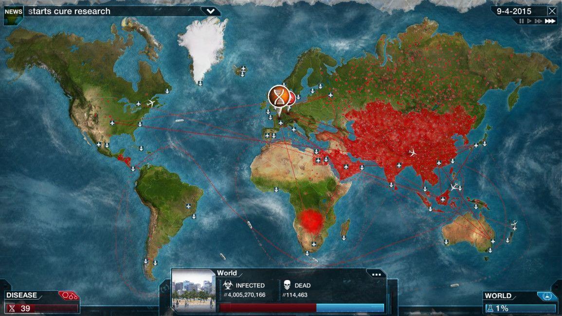 Plague Inc. announces new mode where players save the