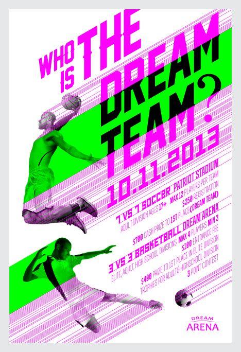 Dream Arena by Boni Soto, via Behance