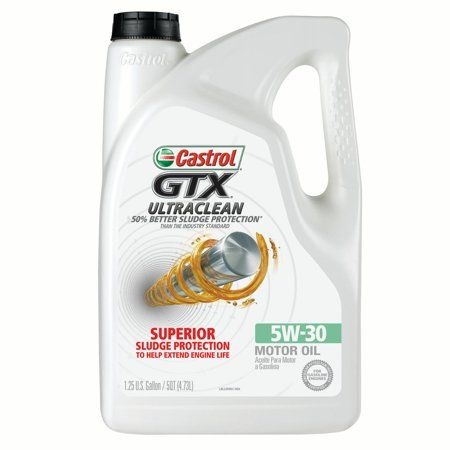 Castrol GTX Ultraclean 5w-30 Motor Oil, 5 QT  | Products in