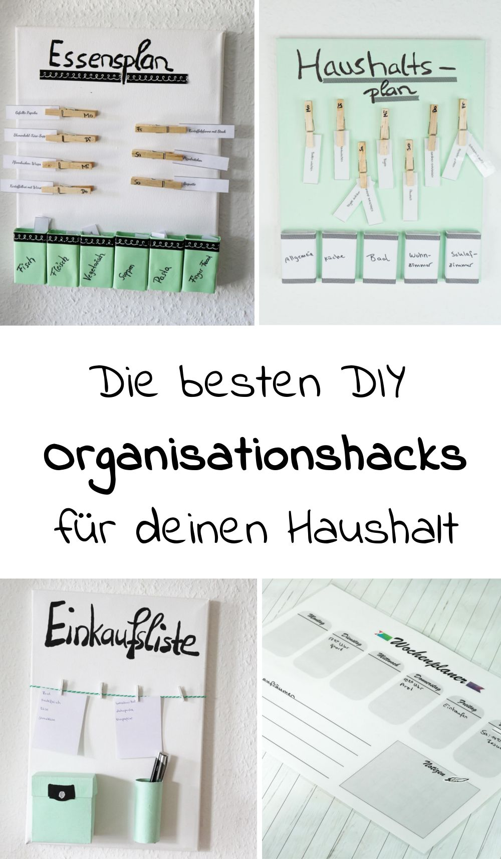 diy organisationhacks f r deinen haushalt mit diesen coolen diy ideen zum thema haushalt kannst. Black Bedroom Furniture Sets. Home Design Ideas