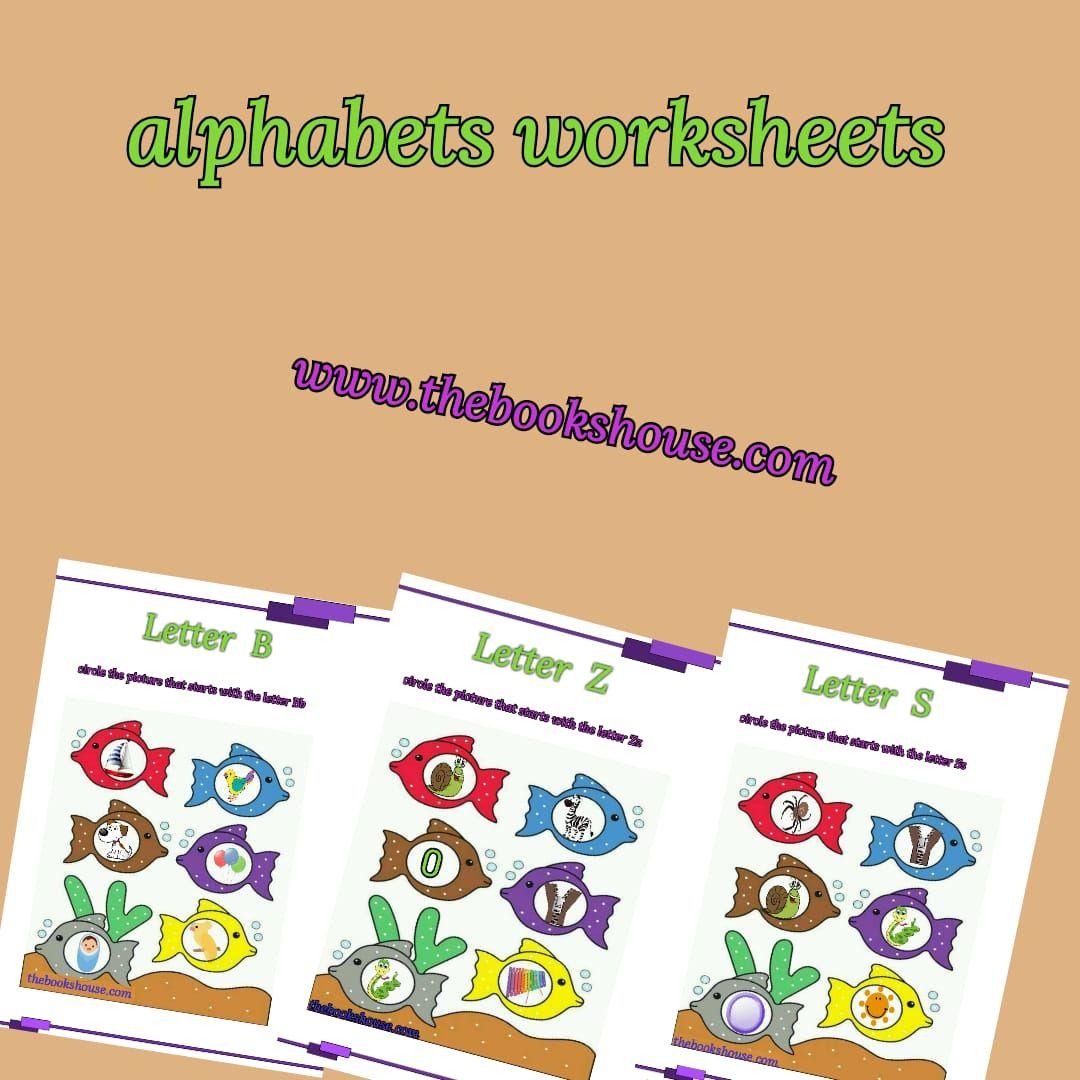 Alphabets Worksheet