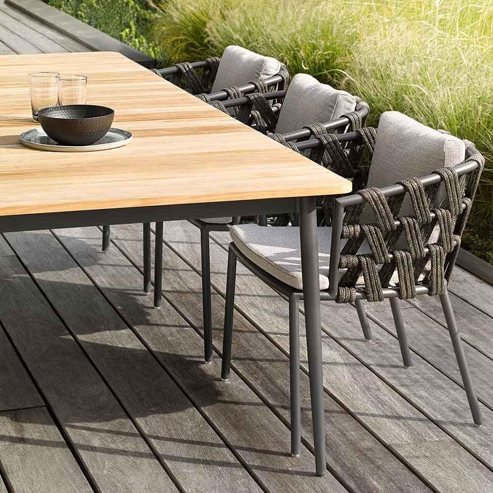 Vincent Sheppard Gartentisch Rechteckig Leo Metall Teak Gartentisch Holz Metall Gartentisch Gartentisch Holz