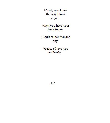 A Little Reminder Palabras Pensamientos Poemas