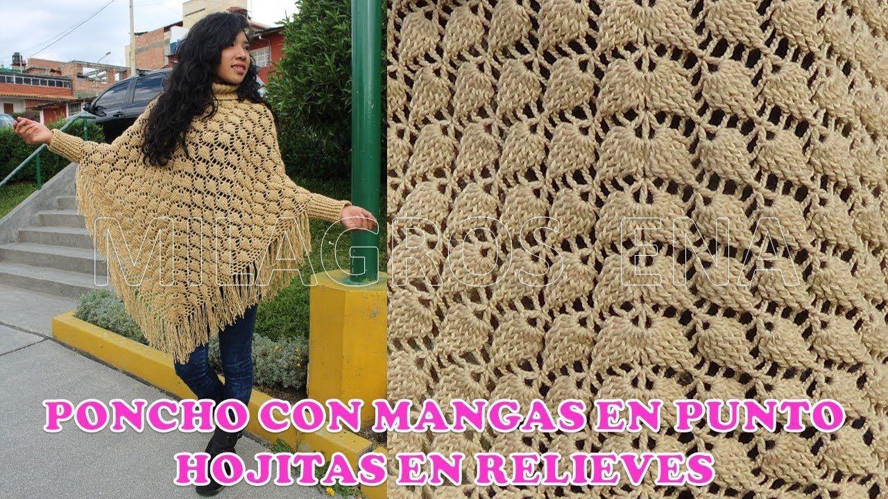 Pin De Kriszitna Jakab En Chales Poncho Con Mangas Ponchos Tejidos A Crochet Ganchillo Paso A Paso