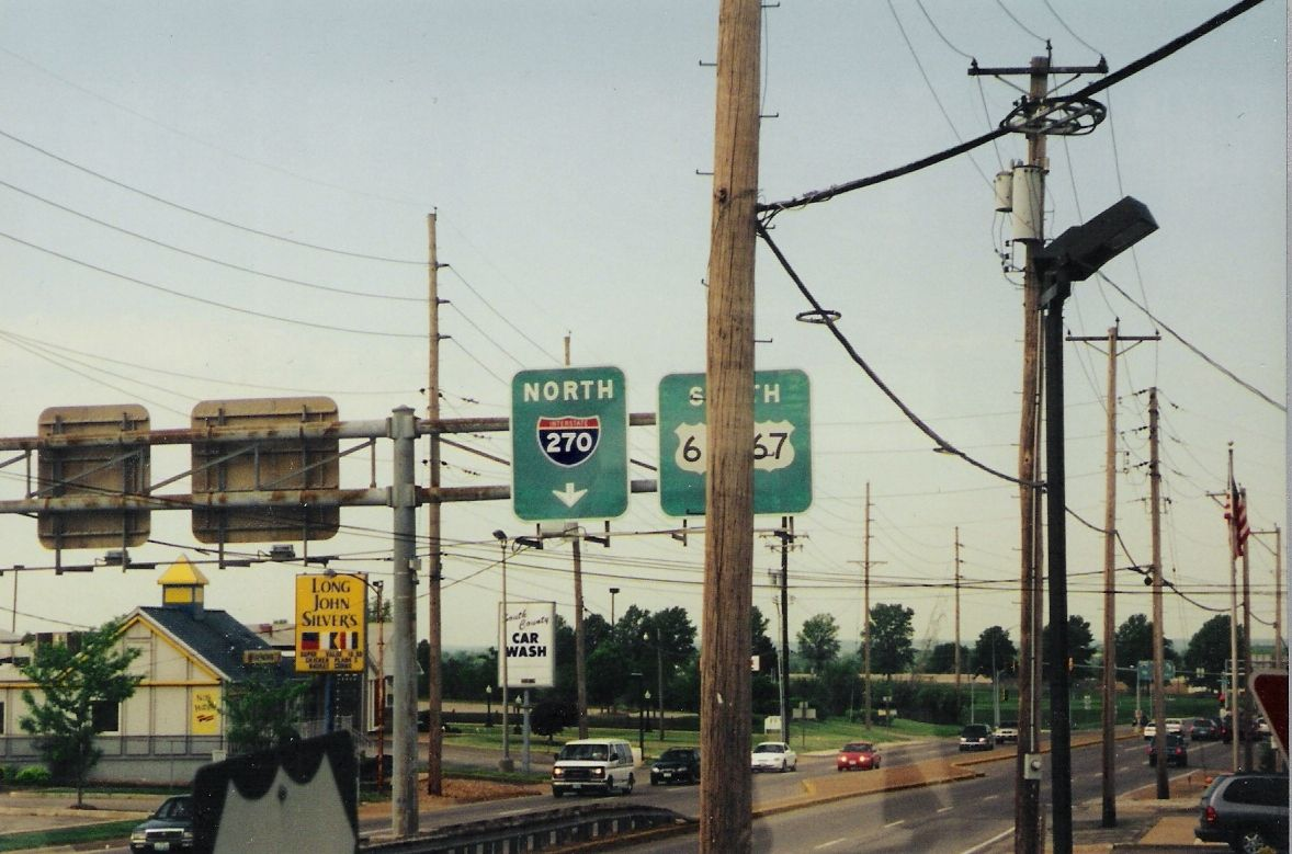US 61 - St. Louis - I-270 - Lemay Ferry Rd - Mehlville - Lindbergh Blvd - Missouri - 2000 - Interstate - US 67