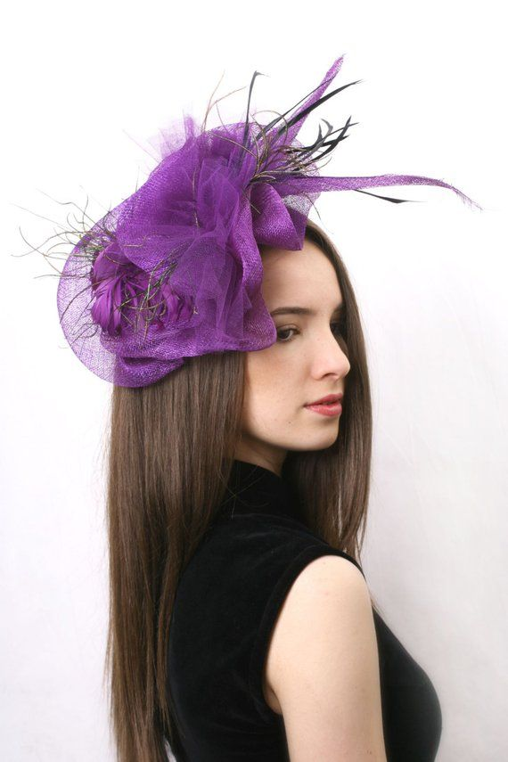 3fc008941aa4a Purple headpiece