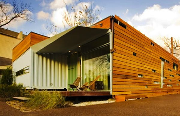 Contemporary design just about makes this a home that can be used in suburbia